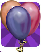 party banners balloons